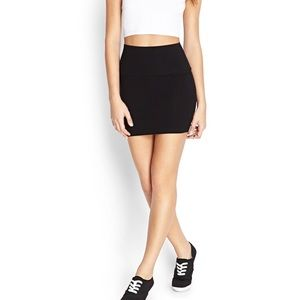 F21 Knit Bodycon Skirt